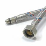 Подводка  д/смесителя стальная оплетка  400, ID01000696, 70 руб., ID01000696, , Подводка гибкая