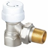 Клапан термостатический угловой HLV  1/2, S2089289, 550 руб., S2089289, , Радиаторы алюминиевые